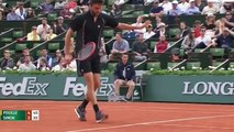 Gilles Simon vs Lucas Pouille - tennis highlights Roland Garros 2015 (HD720p 50fps)