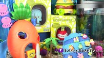 SpongeBob MEGA Toy Surprises! Kinder Imaginext Unkl Disney Toynami Squinkies PlayDoh HobbyKids