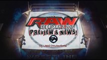 WWE RAW February 2 2015 - WWE RAW 2/2/15 TRIPLE H Major Announcement For Fast Lane & More! - PREVIEW