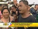 Desperate survivors wait for flight out of Tacloban