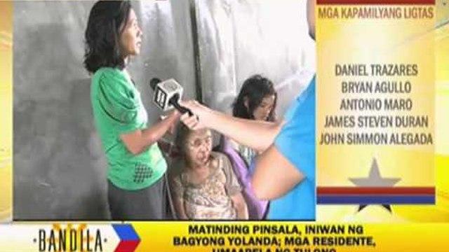 ABS-CBN News team rescues children amid 'Yolanda'