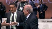 Sepp Blatter wins Fifa leadership election