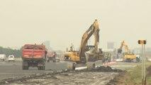 Début des travaux de rénovation de la piste 25 gauche à Brussels Airport