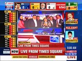 Results 2014: TIMES NOW at Times Square