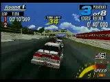 Sega Touring Car Championship (Arcade, Sega Saturn) - Gameplay