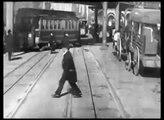 NYC Edwardian Era Street Scenes, Trolley Ride and Pedestrians