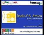 Radio PA Amica 11 gennaio 2013