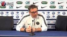 (CdF) Auxerre / PSG - La conférence de presse de Laurent Blanc