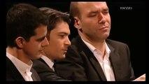P. Jaroussky playing the piano/violin/chansonette, 2010