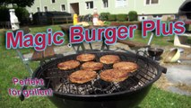 Magic Burger Plus - Veganskt kött du inte trodde fanns