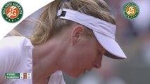 Temps forts M. Sharapova - S. Stosur Roland-Garros 2015 / 3e tour