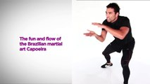 Nitro Cardio Kickboxing with Brett Hoebel–Quick, Easy At-Home Workout–SELF's Burn 100 Calories