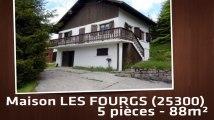 A vendre - Maison/villa - LES FOURGS (25300) - 5 pièces - 88m²