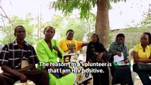 CSIS Smart Global Health: HIV-Positive Community Health Workers meet with the Commission