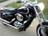 Kawasaki Vulcan 800 Bobber Ride HD - video dailymotion