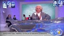 I fratelli d'Italia con Assunta Almirante sulla situazione politica in Italia (01/11/2012)