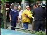 Hooligans England gegen deutsche Hools in München Old School Europameisterschaft