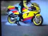 ZXR 750 Burn out