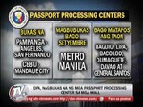 Newsbytes - TV Patrol - DFA opens passport processing centers in malls