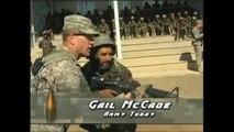 Afghan War: US Soldiers training Afghan Soldiers (HiDef!)
