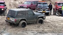 Nissan Patrol 4x4 Getting Stuck at Løkken Beach Tour 4x4 2015
