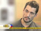 Supermodel David Gandy offers advice to Pinoys