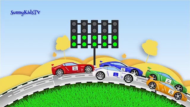 Cars Race Cars Sports Car Race