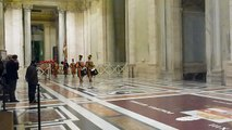 Changing of the Vatican Swiss Guards Jan 2011 505th Anniversary of the Papal Guards