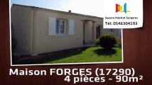 A vendre - Maison/villa - FORGES (17290) - 4 pièces - 90m²