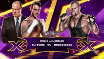 WWE 2K15- undertaker vs cm punk at Wrestlemania 29 Normal Match 2015 (PS4)