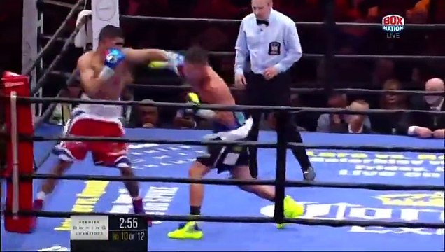 Amir Khan vs Chris Algieri Complete Fight Highlights