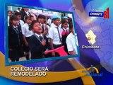 Eligen a colegio San Pedro de Chimbote como colegio emblematico