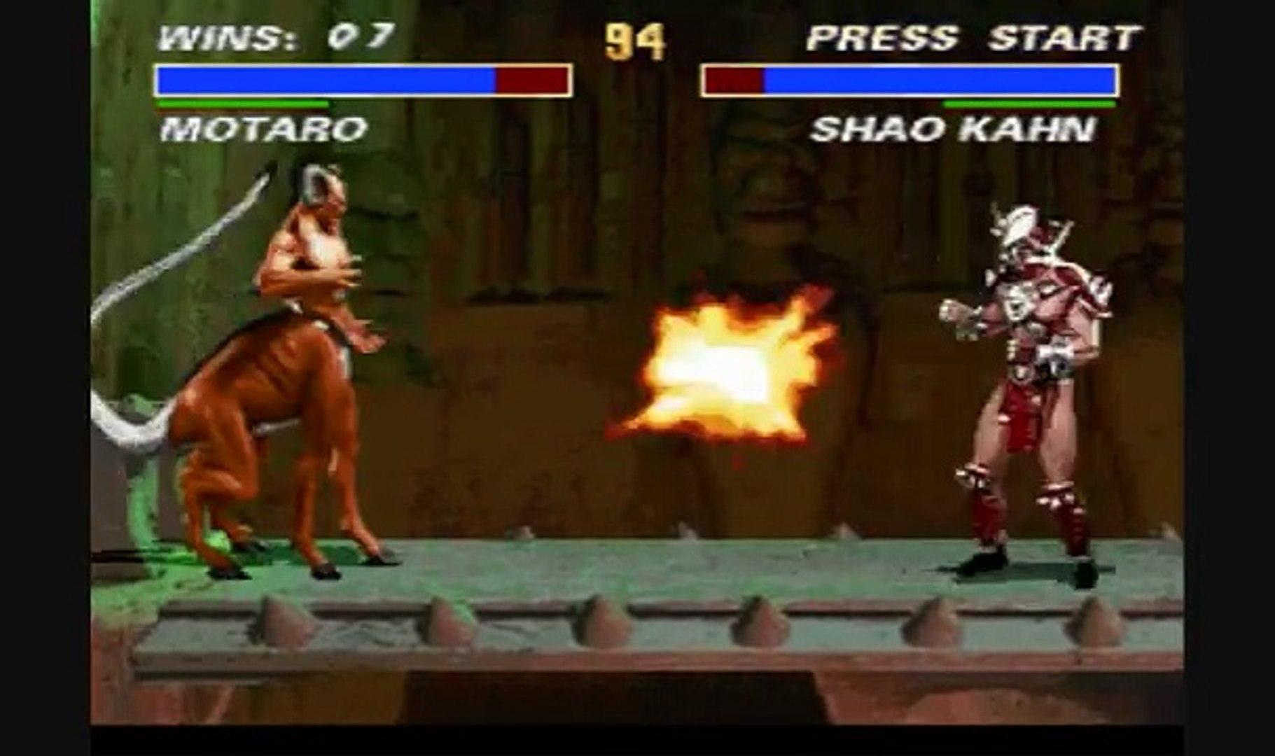 Mortal Kombat 3: (SNES) Boss VS Boss Fights