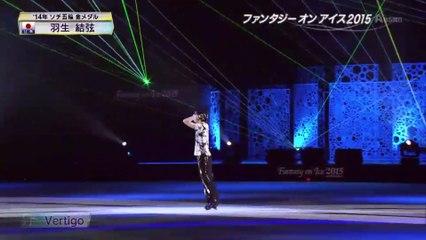 2015FaOI幕張 Yuzuru Hanyu- Vertigo