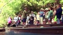 Moon River Canoe launch built on banks of Alabama's Cahaba River