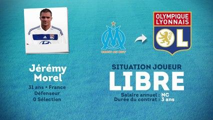 Maillot OL Jérémy MOREL