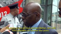 Blatter wins fifth FIFA term as challenger concedes Reuters