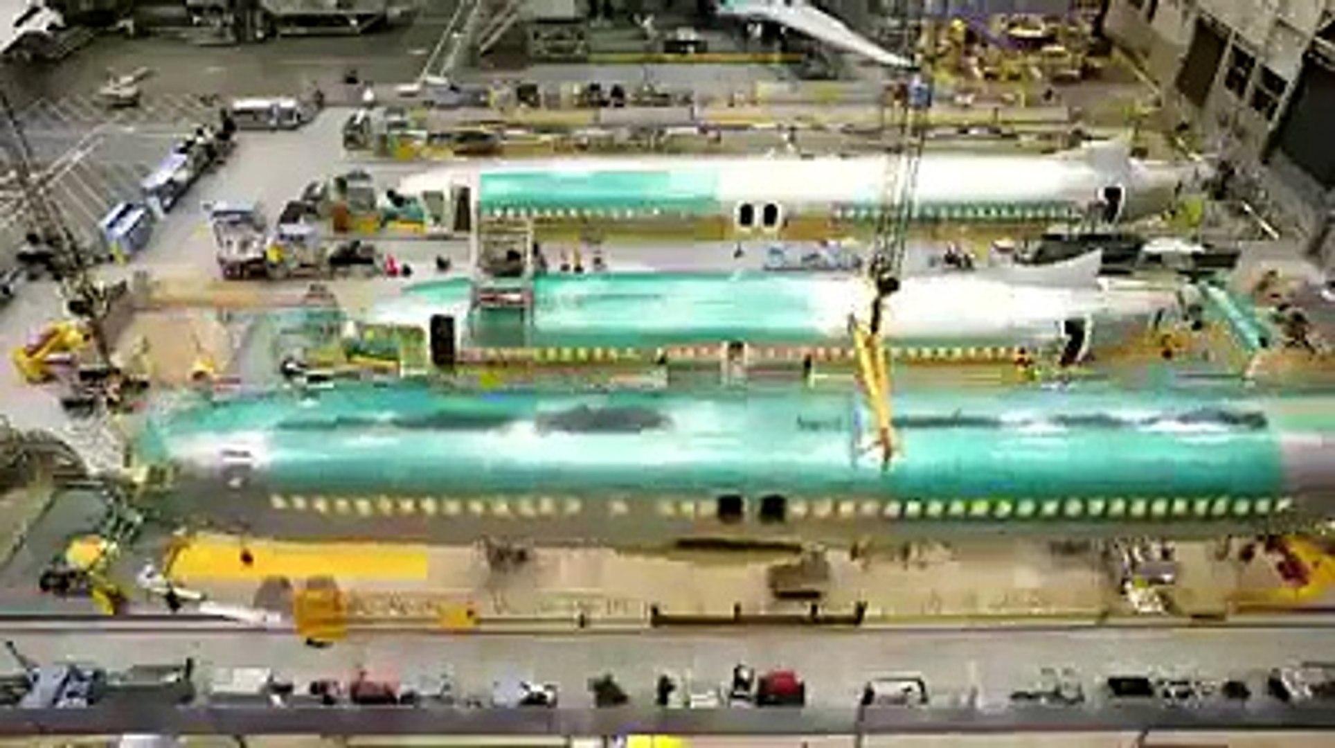 Boeing 737 Nasıl Yapılır