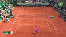 Le lob de Nick Kyrgios contre Andy Murray (Roland Garros)