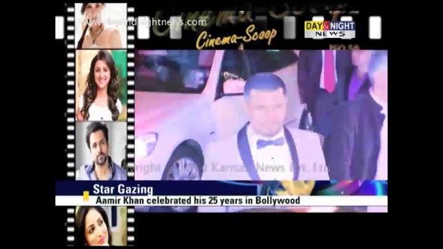 Aamir Khan celebrates 25 years in Bollywood