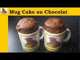 Mug cake au chocolat (recette rapide et facile)