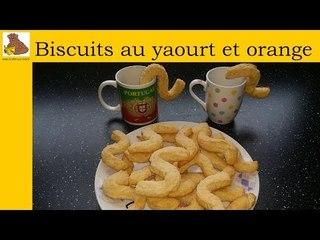 Biscuits au yaourt et orange (recette rapide et facile)