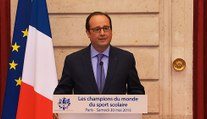 Réception en l'honneur des lycéens champions de l'Union nationale du sport scolaire