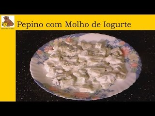 receita da salada de pepino com molho de iogurte (rapida e facil)