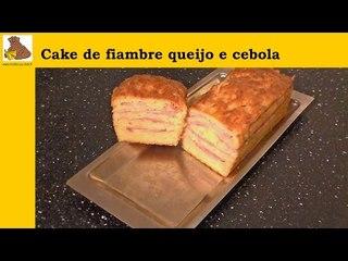 receita : cake de fiambre queijo e cebola (rapida e facil)