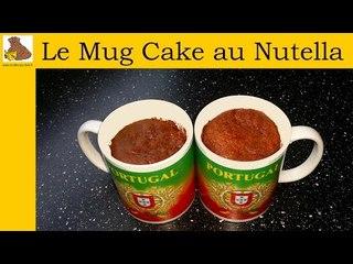 Le Mug cake au nutella (recette rapide et facile)