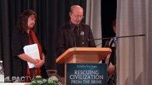 I.A.M. International President Tom Buffenbarger Greets Schiller Institute Conference