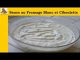 Sauce au fromage blanc avec de la ciboulette (recette rapide et facile) HD