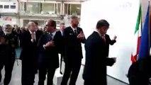 """טקס גלילת מטוס ה""""לביא"""" החדש (Reception ceremony -""""Lavi"""" (M-346"""