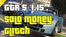 "GTA 5 Online SOLO Money Glitch After Patch 1.15  ""GTA5 SOLO Money Glitch 1.15""GTAV Solo Money Glitch"